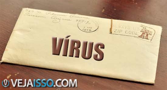 Email é uma das formas mais comuns de disseminar vírus, por ter acesso a email e contatos de pessoas reais, além de usar sua credibilidade para fazer elas abrir o vírus