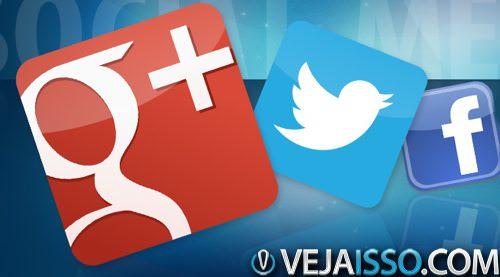Google+, dentre todas as redes sociais foi a que mais cresceu em 2013, além de obrigar as demais a promover mudancas fundamentais nas suas configurações de privacidade