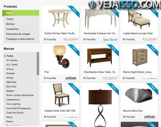 Diferentemente de todos os outros sites de programas, AutoDesk oferece todas as mobílias disponíveis à partir de um site único incluindo inúmeras marcas do mundo inteiro - para você se inspirar e testar na decoração da sua casa